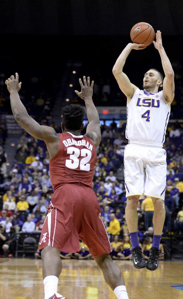 LSU guard Keith Hornsby to sit out game at Arkansas _lowres