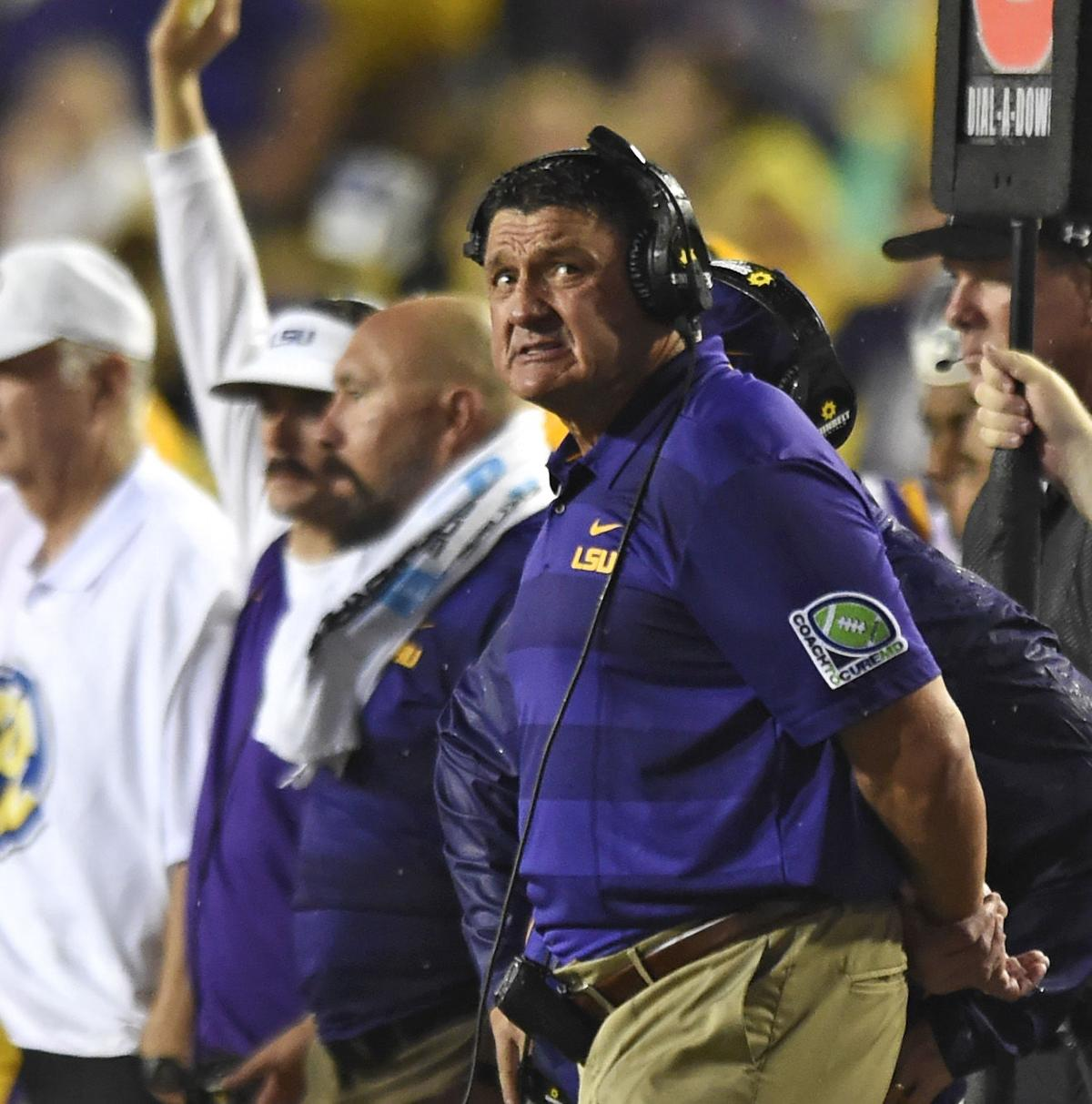 USA Today: LSU's Ed Orgeron ranked 37th highest paid head ...