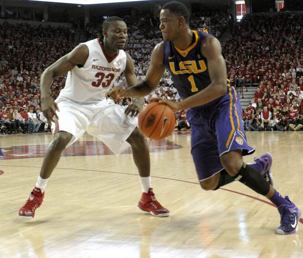 LSU draws No. 4 seed in upcoming SEC basketball tournament _lowres