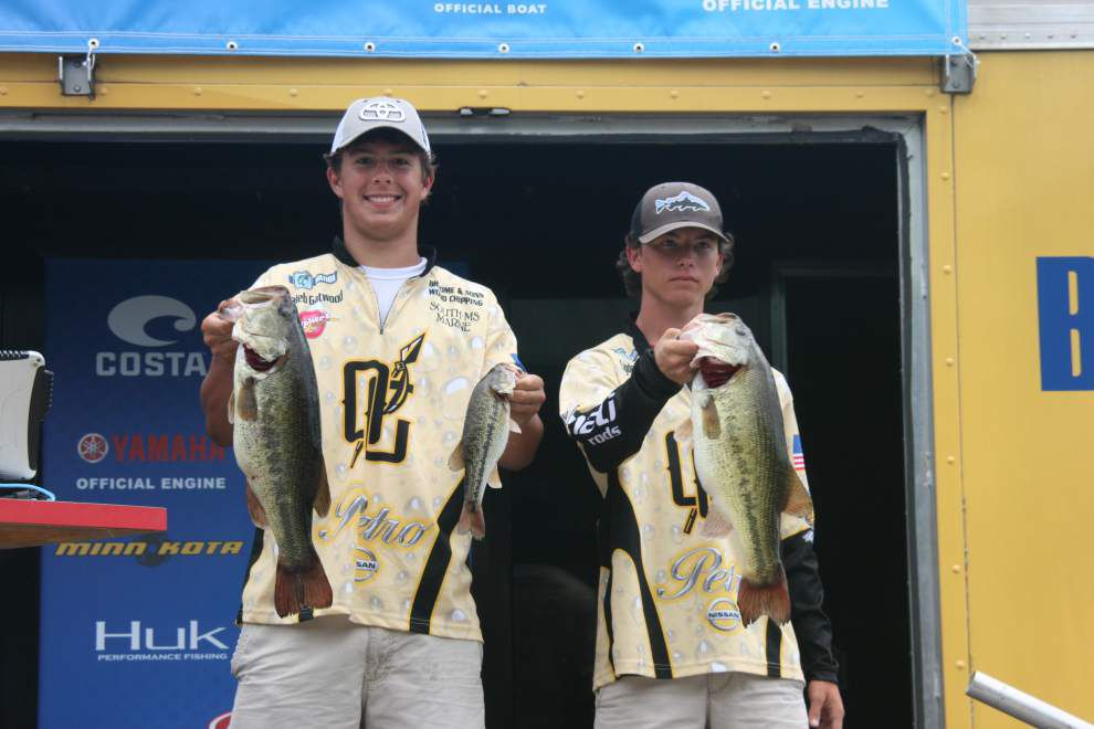 Mississippi team takes home Costa Bassmaster High School Series Central Open at Toledo Bend _lowres