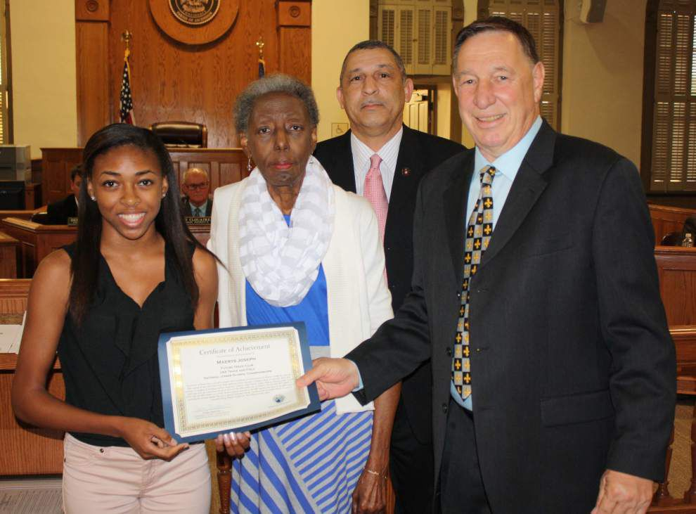 Ascension Catholic athlete honored _lowres