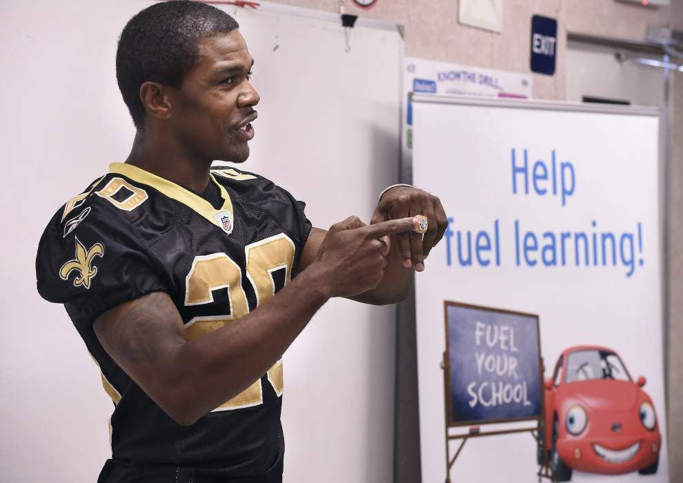 Former LSU, Saints player Randall Gay among the graduates from Southern Law Center _lowres