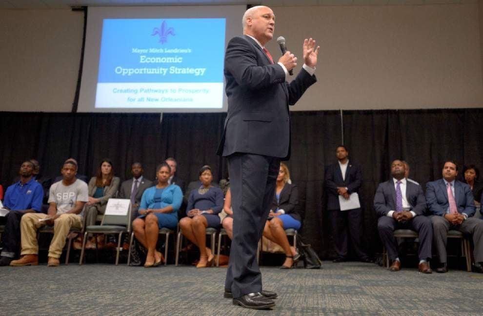 Landrieu launches effort to help unemployed black men find jobs _lowres