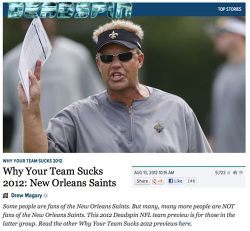 Just a reminder: Not everyone is a Saints fan_lowres