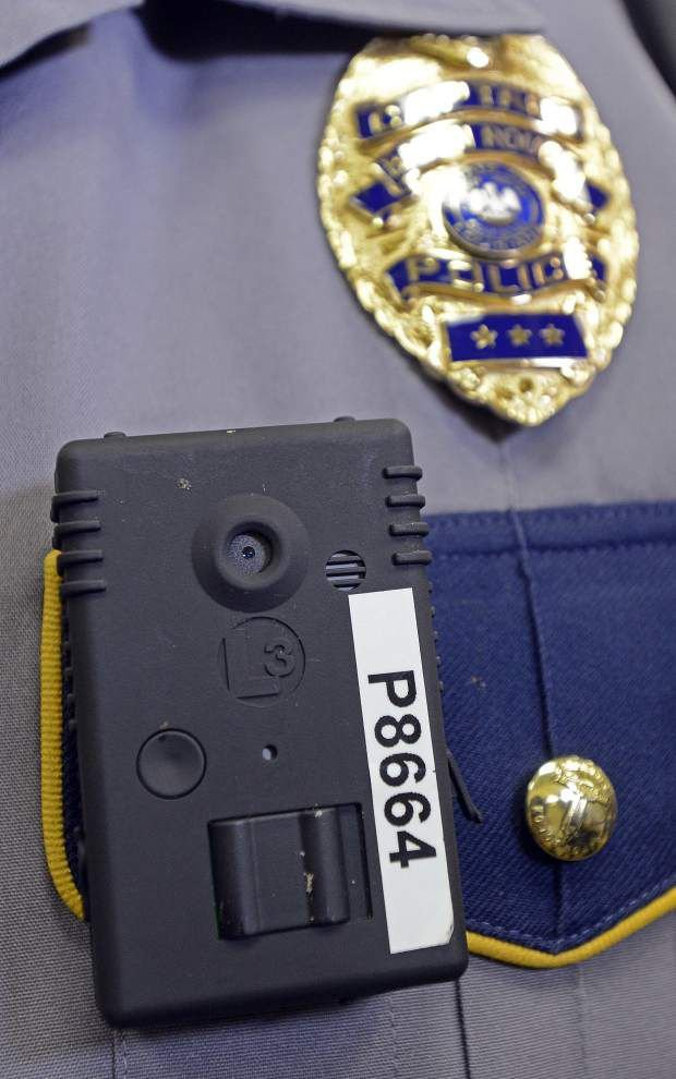 Baton Rouge launching pilot program that places body cameras on officers in the high-crime First District _lowres