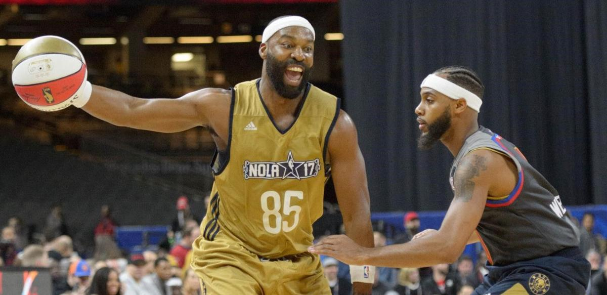489e21410 Former New Orleans Hornet Baron Davis  I d take half the money to live in L.A.  over N.O.