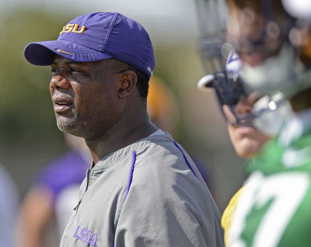'Jim (Harbaugh), you're late to the party': What's a satellite camp? Mark Hudspeth's been doing them for a while, and LSU will join in next week _lowres