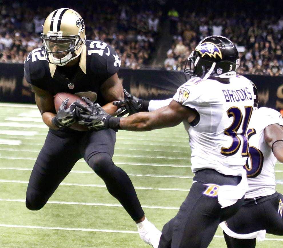 Photos: Saints take on Ravens _lowres