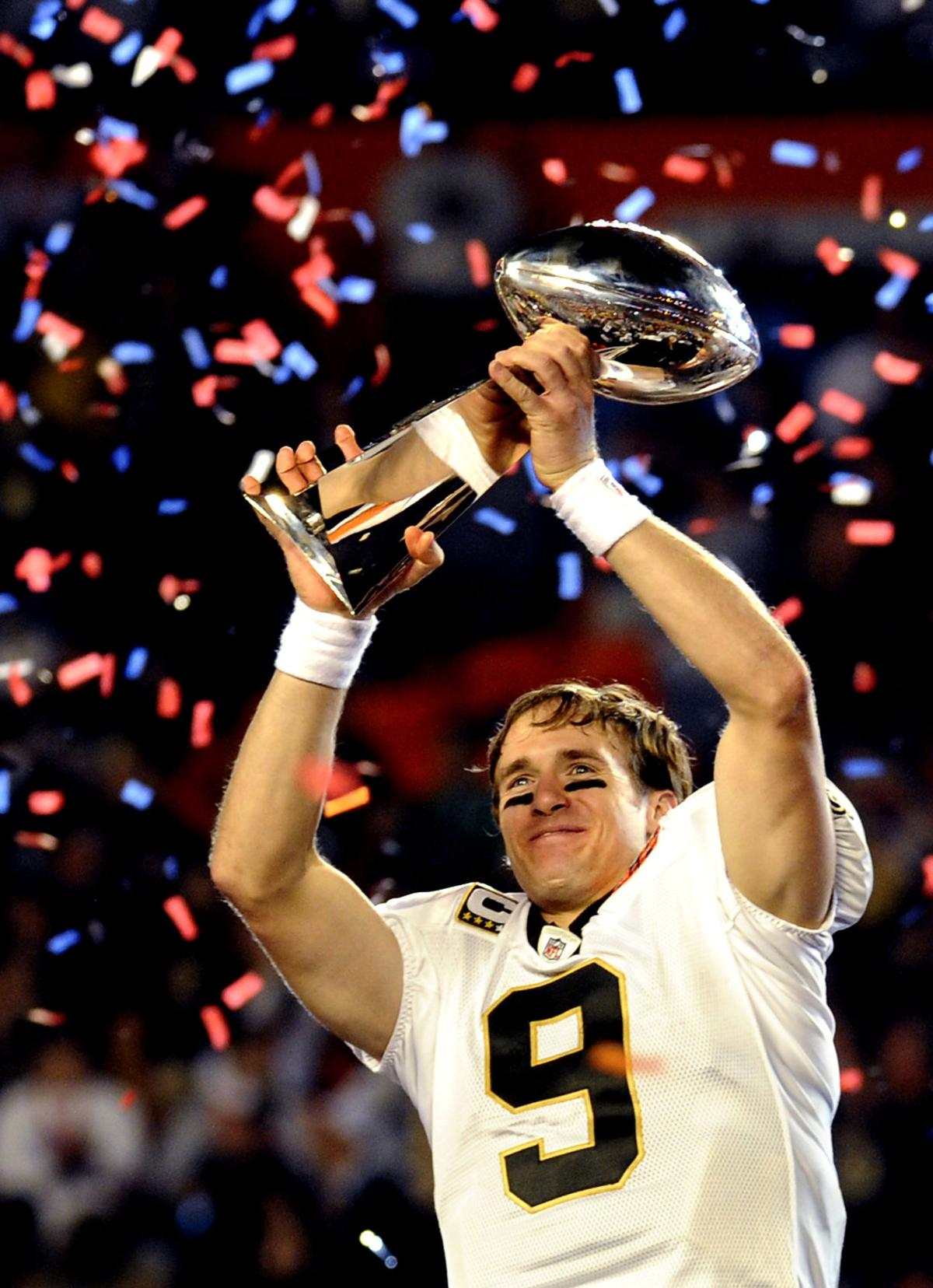 Image result for drew brees super bowl