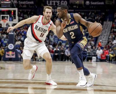 Trail Blazers Pelicans Basketball