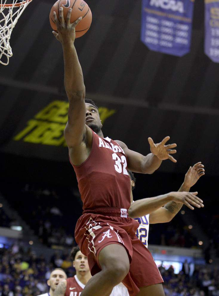 LSU -- gunning for SEC title, NCAA tourney bid -- goes cold in 76-69 loss to Alabama _lowres