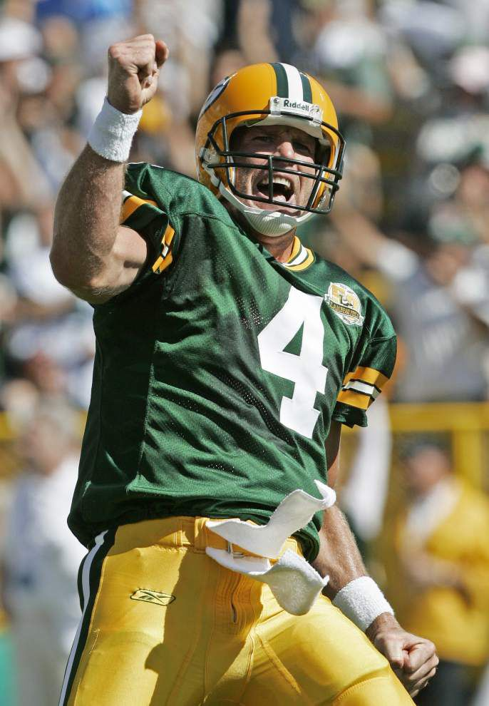 Brett Favre is set to join the Packers Hall of Fame at last _lowres