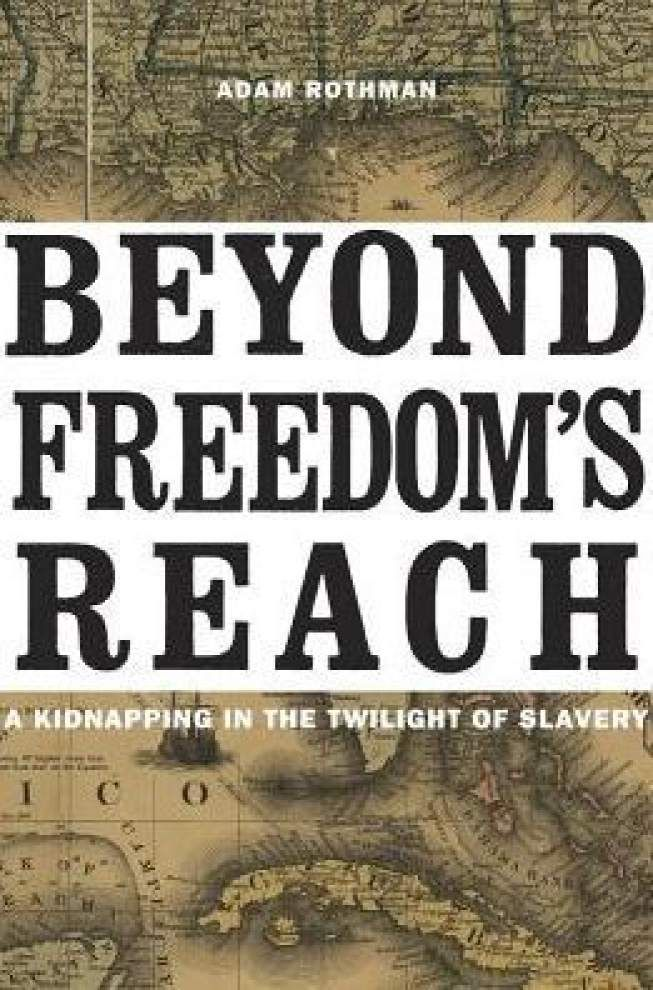 Well-researched book tells personal story of slavery _lowres