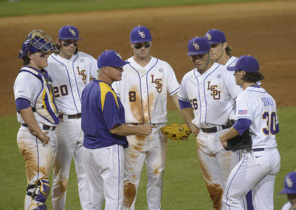 Photos: Relive the intensity, elation of LSU's dramatic bottom of the 9th walk-off victory to claim game 1 between titans of college baseball _lowres