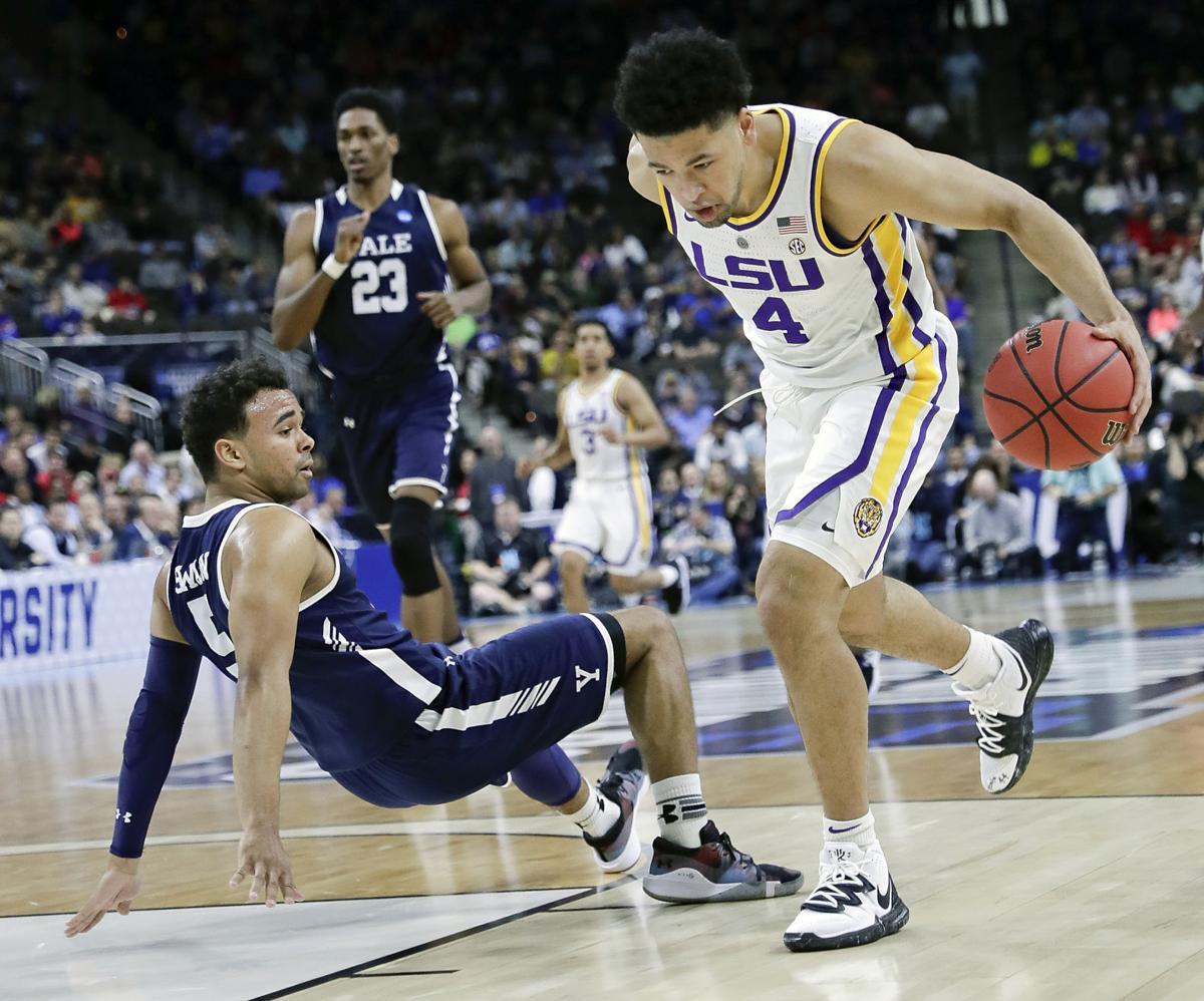 NCAA Yale LSU Basketball