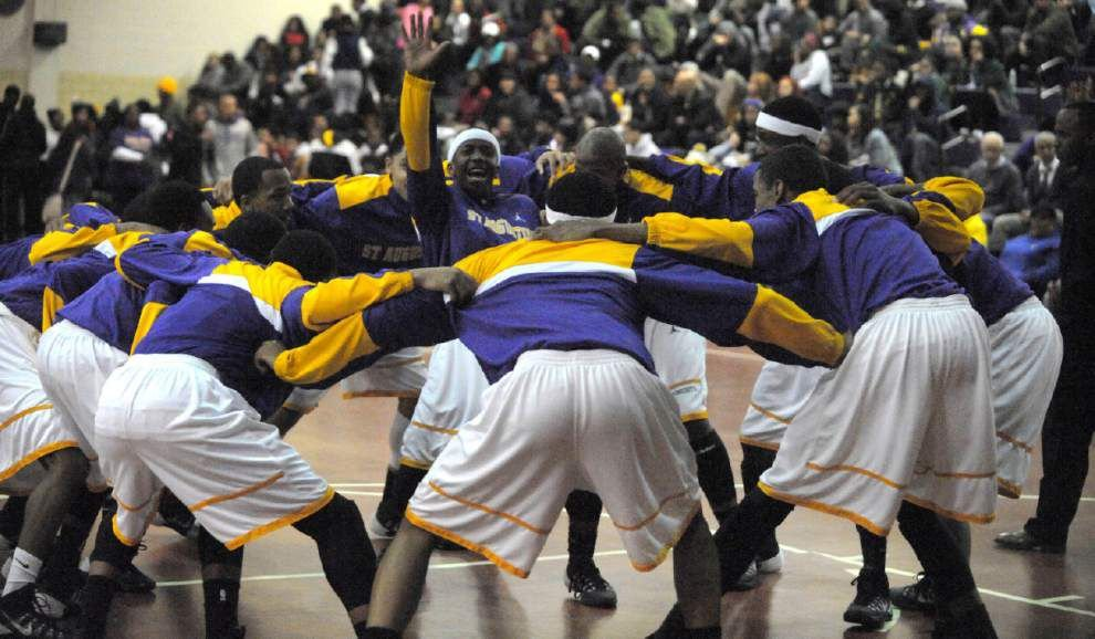 St. Aug pulls away from Catholic League rival Brother Martin _lowres