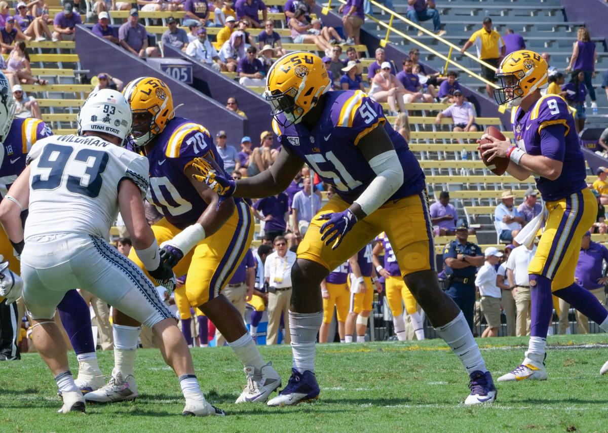 Lsu Football Practice Report Oct 30 Offensive Lineman