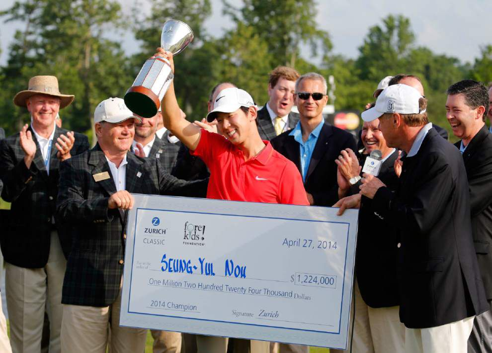 Video: Noh wins the Zurich Classic _lowres