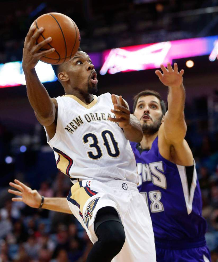 Led by Ryan Anderson, Pelicans power past Kings without Anthony Davis and Tyreke Evans _lowres