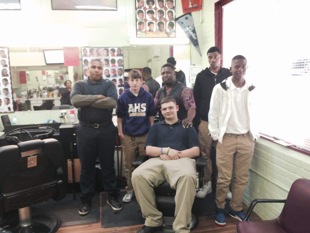Students get lessons on personal grooming _lowres