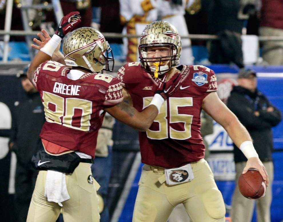 Florida State avoids upset for title _lowres