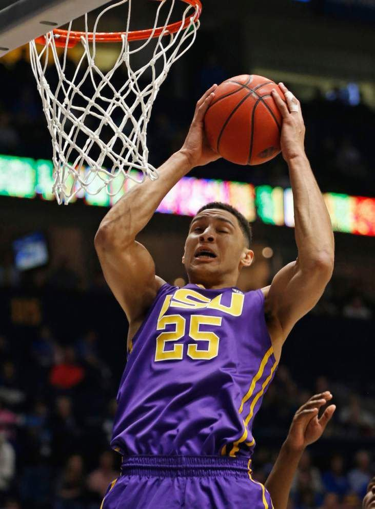 Report: LSU's Ben Simmons has been told he will go No. 1 in NBA Draft to Philadelphia 76ers _lowres