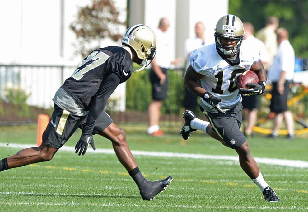 Photos: Saints training camp _lowres
