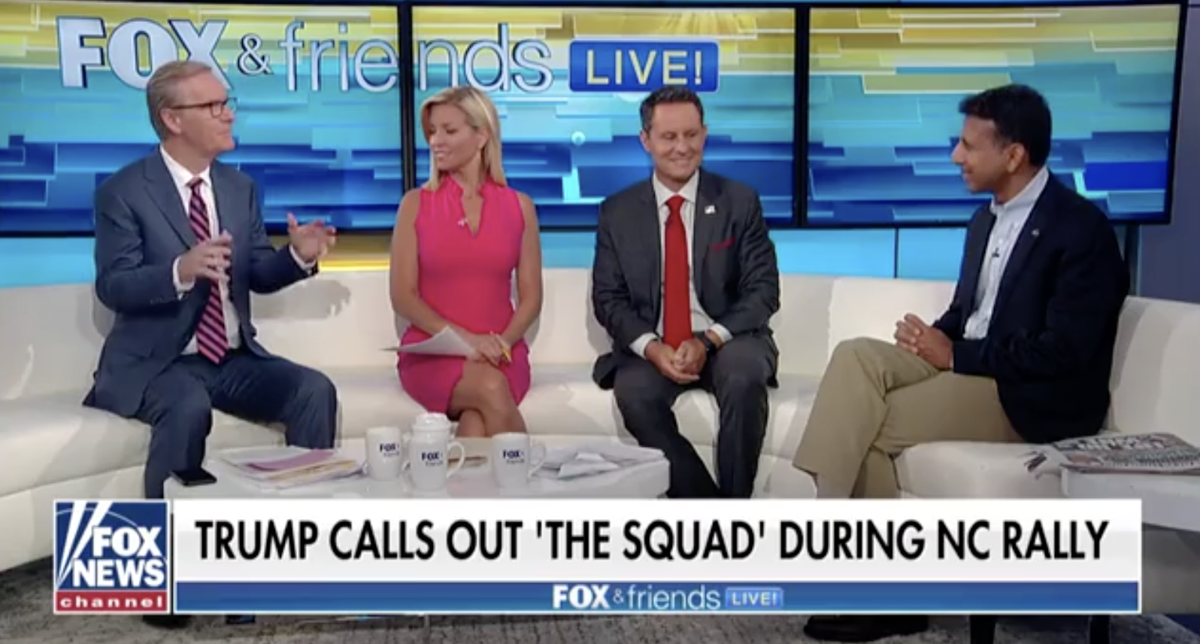 Bobby Jindal on 'Fox and Friends': Trump may be crazy, but Democrats are crazier