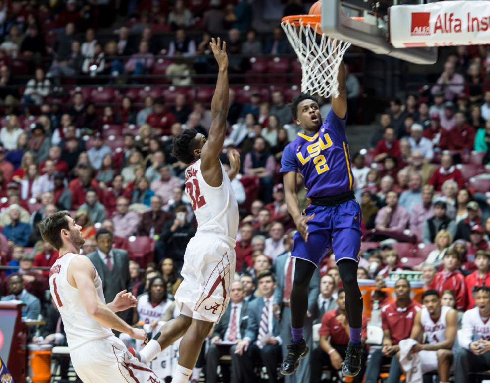 Quarterman, Simmons lead LSU past Alabama, 72-70 _lowres