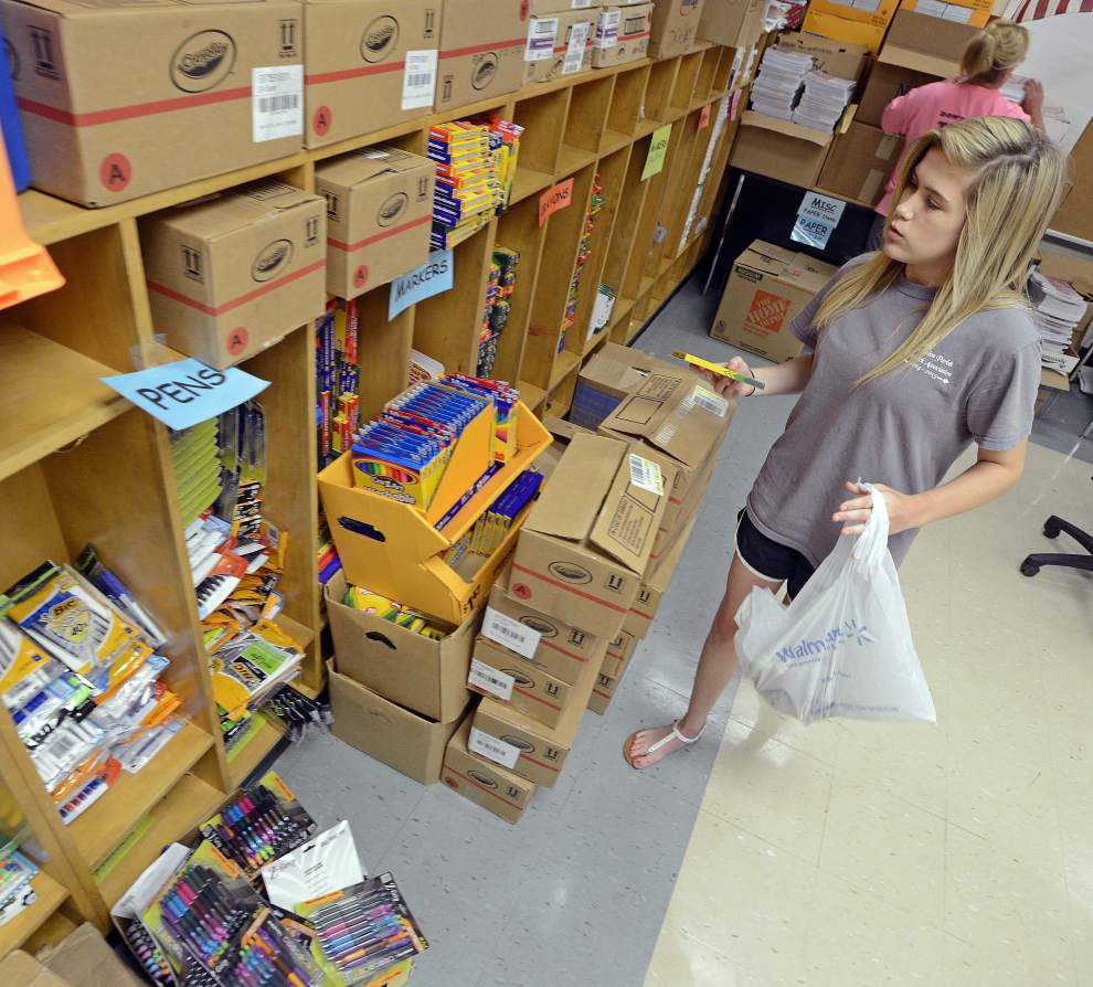 Businesses, community heed call to supply tools for schools _lowres