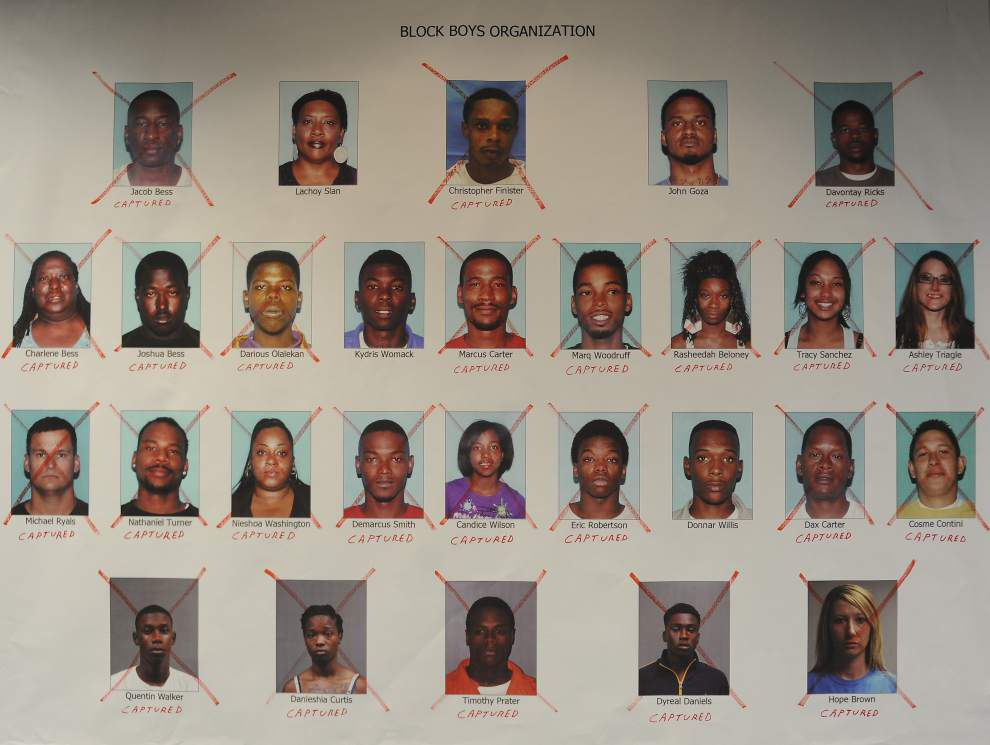 Big Money Block Boyz gang case to again go before appellate court in Baton Rouge _lowres