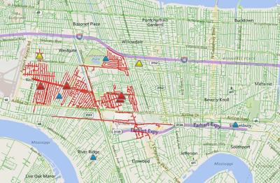 Power Restored In Jefferson Parish More Than 1k Without Power In