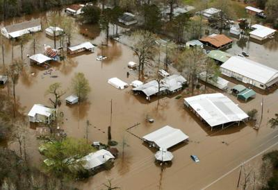 Photos, videos: North shore flooding, rescues Saturday in Louisiana _lowres (copy)