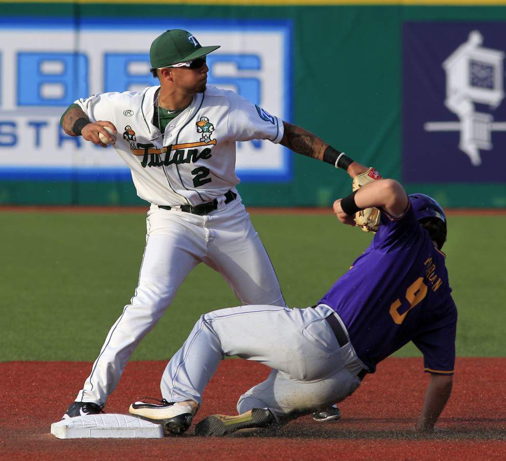 Tulane catcher Jake Rogers, shortstop Stephen Alemais snagged on second day of Major League Baseball draft _lowres
