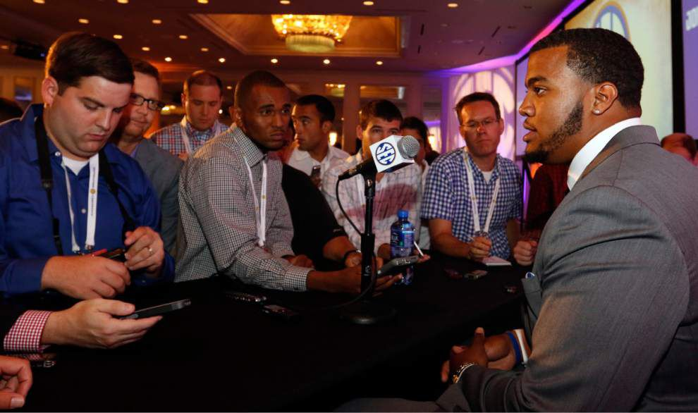 SEC Media Days 2015: They said what? The best and worst quotes from Monday _lowres