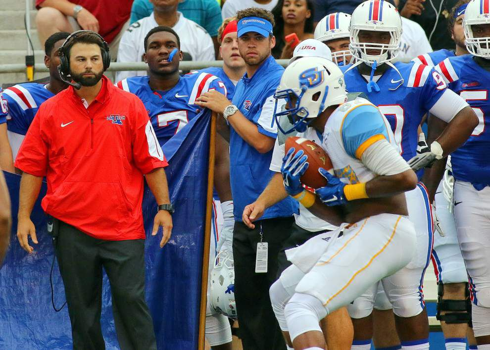 Louisiana Tech 62, Southern 15: Les East's three and out _lowres