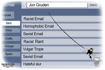 Walt Handelsman: Delete