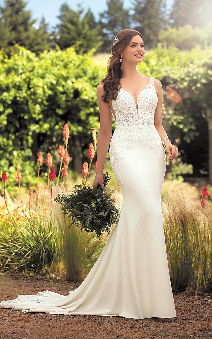 look of love experts track 2018 wedding gown trends weddings