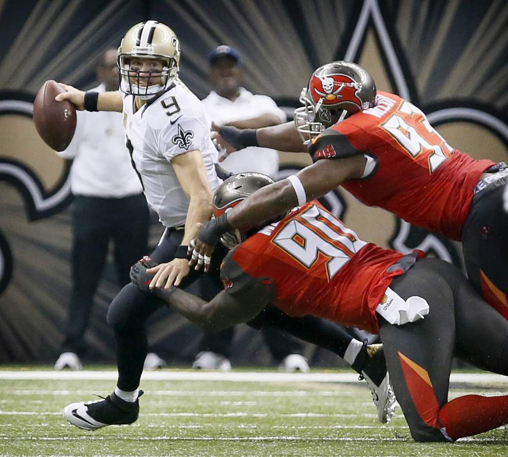 Sean Payton says report Drew Brees could miss several games is 'inaccurate,' shoulder injury won't be long-term _lowres