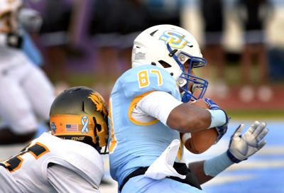 Southern University wide receiver Randall Menard
