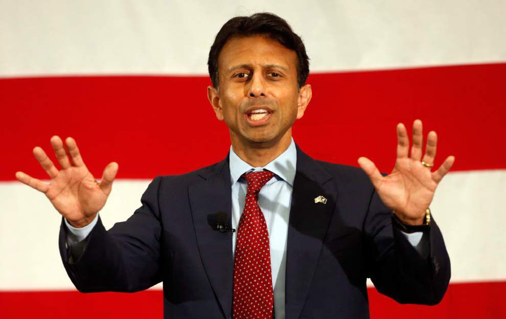 Former Louisiana Gov. Bobby Jindal got 63 votes in New Hampshire's GOP primary, 3 months after leaving race _lowres
