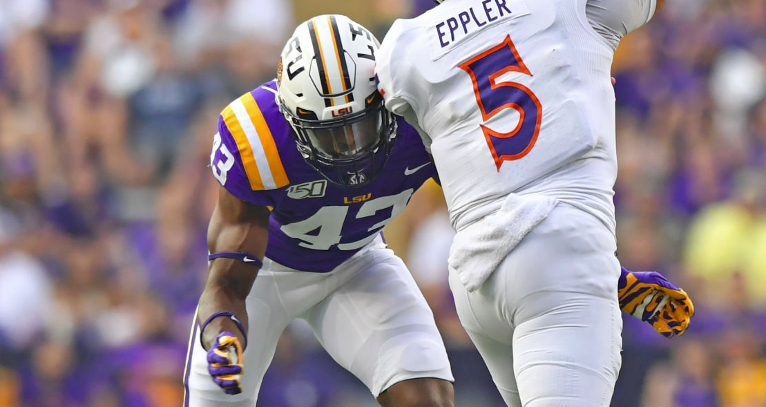 After brief suspension, LSU linebacker Ray Thornton 'able ...