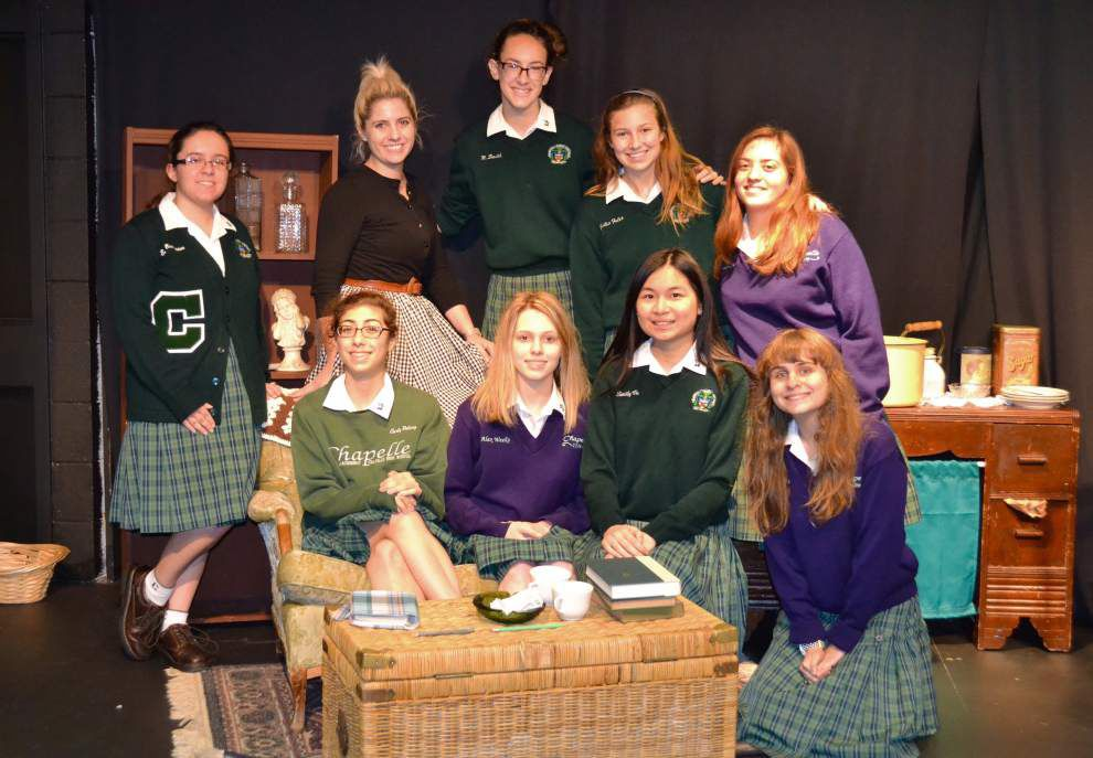 Chapelle students express Holocaust lessons in words, images and drama _lowres