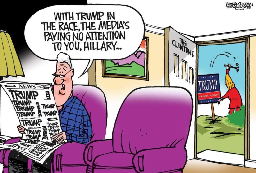 Walt Handelsman: Media Attention _lowres