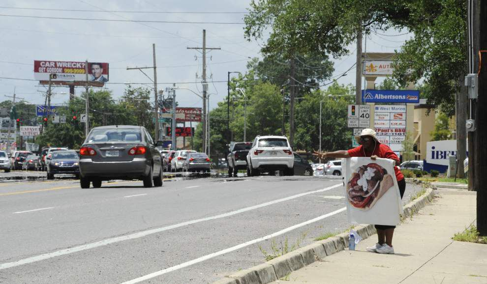 Half-mile section of Lafayette's Johnston Street to get a makeover in a pilot project to clear the clutter _lowres