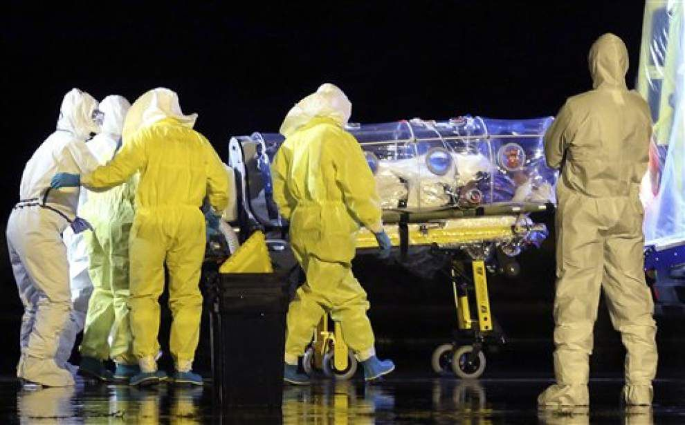 Ebola: Who survives? Tulane University School of Medicine physician cited in journal report _lowres