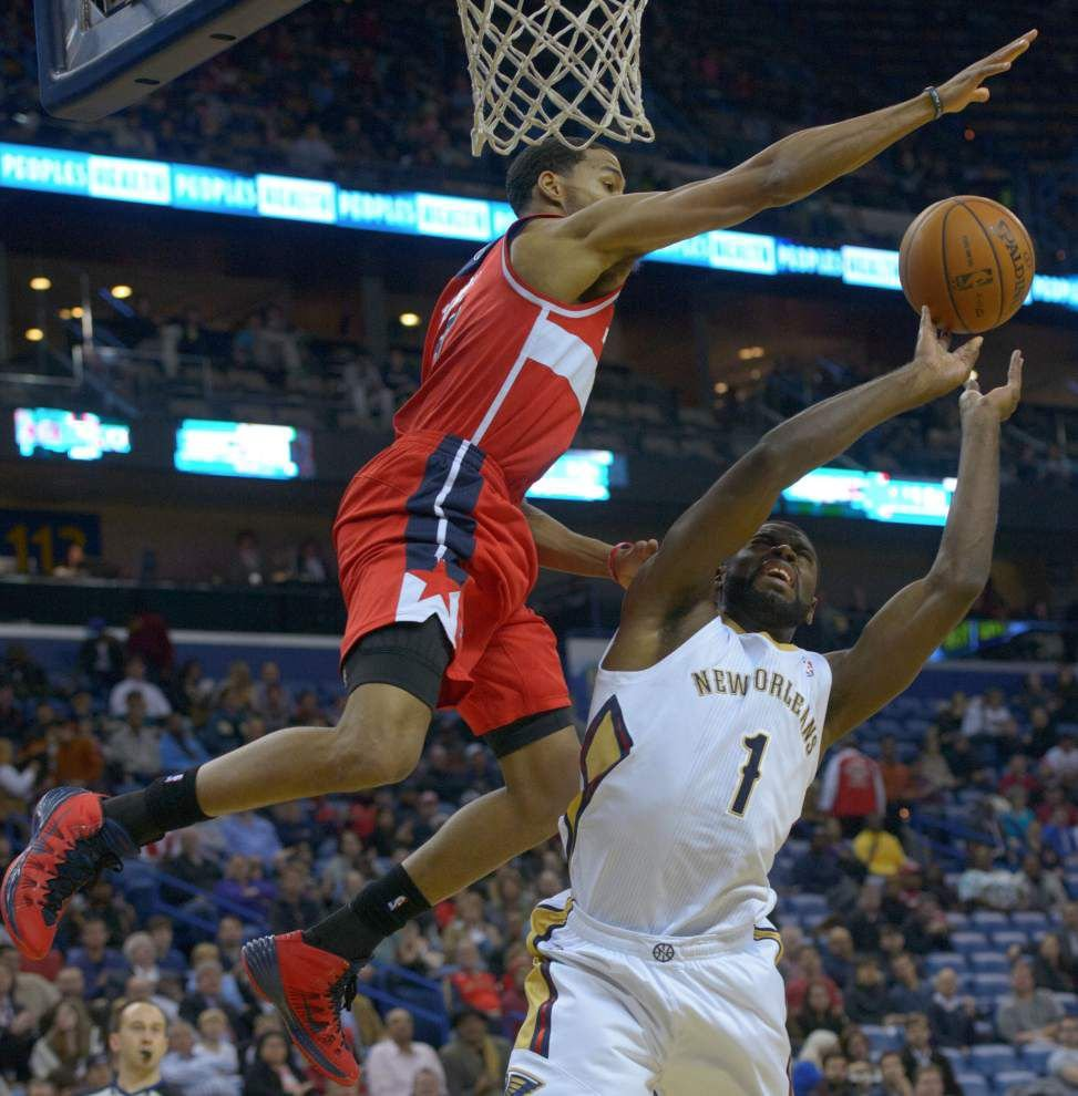 Video: Evans says the Wizards played harder than the Pelicans _lowres