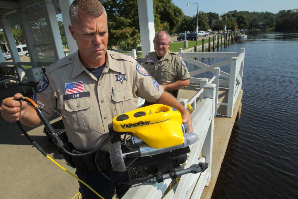 New device lets St. Tammany deputies explore underwater without getting wet _lowres