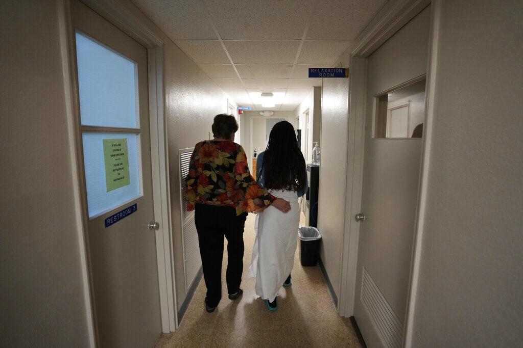 APTOPIX Abortion Texas Louisiana Clinic