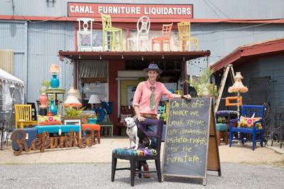 Gambit In Month After Fire Canal Furniture Liquidators Continues